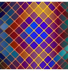 vitrage mosaic background vector image