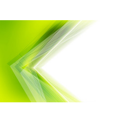 White and green abstract background vector