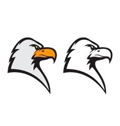 Eagle mascot Sports team emblem template vector image vector image