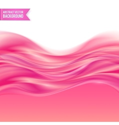 Pink liquid jelly abstract background vector