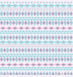 tribal texture geometric seamless pattern vector image vector image