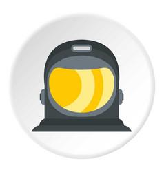 Astronaut icon circle vector