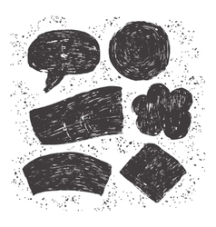 Hand drawn dirty texture vector image