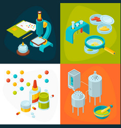 concept pictures set of medicine and pharmacology vector image vector image