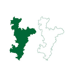 Ahmedabad district gujarat state republic vector