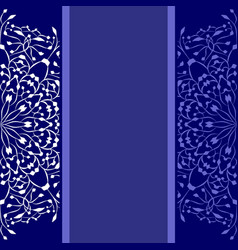 blue background with copy space vector image