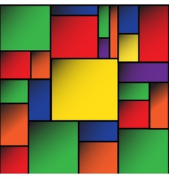 Colorful Square blank background EPS10 vector image