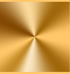 conical golden gradient vector image