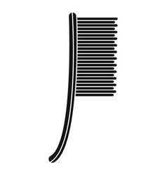 Metal brush icon simple style vector