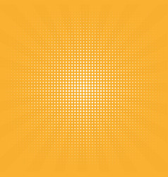 retro background centric yellow pattern s vector image