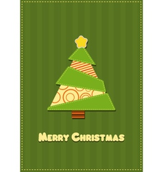 Retro Christmas Card vector