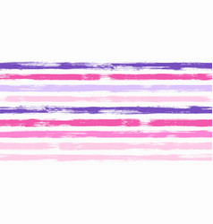 retro watercolor brush stripes seamless vector image