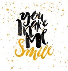 Smile concept inspirational phrasesmiles vector