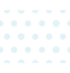 template for Christmas greeting seamless pattern vector image