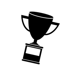 Trophy award icon vector