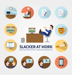 Vacancy for a student infographic elements vector