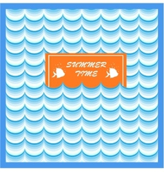 Summer Card Print vector image vector image