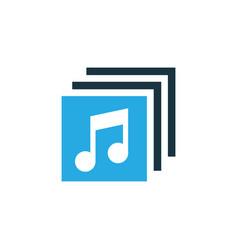 Albums colorful icon symbol premium quality vector