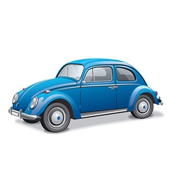 beetle car vector image
