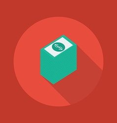 Business Flat Icon Money vector