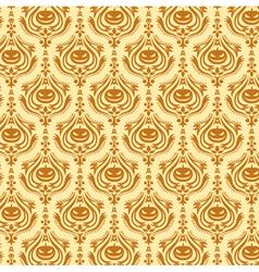 Damask decorative wallpaper vector