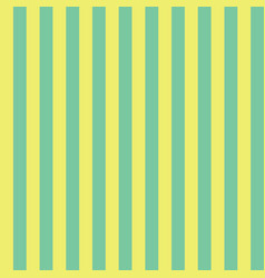 green and yellow vertical stripes seamless pattern vector image