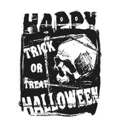 Happy Halloween Flyer vector