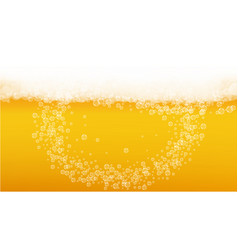 Lager beer background with craft splash vector