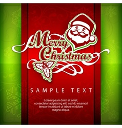 Mary christmas poster text vector