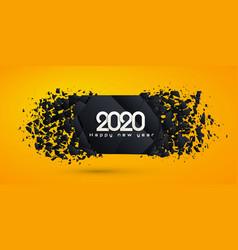 New 2020 year vector