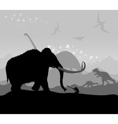 Prehistoric vector