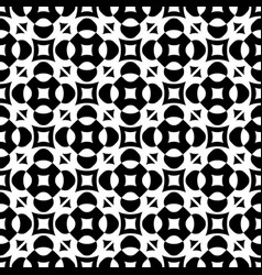 seamless ornament pattern with rounded figures vector image