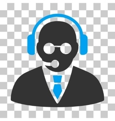 Support Manager Icon vector image