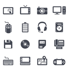 Technology and Devices Icon vector image