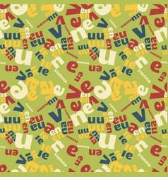 Vienna creative pattern vector