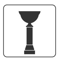 Trophy cup icon 17 vector image vector image