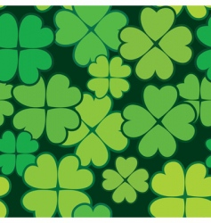 Patrick's day abstract seamless background vector image