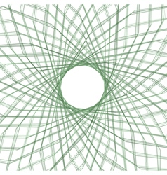Abstract spirograph element vector