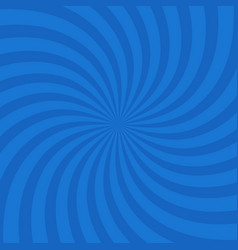 blue color circle swirl burst background vector image