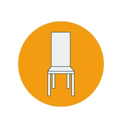 Chair armchair vector image
