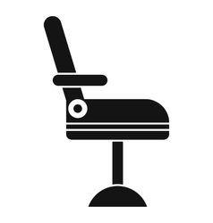 Chair icon simple style vector
