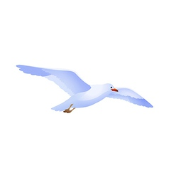 icon seagull vector image