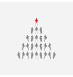 Large group group of people vector image