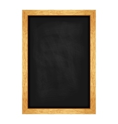 Menu chalkboard for cafes and restaurants vector image
