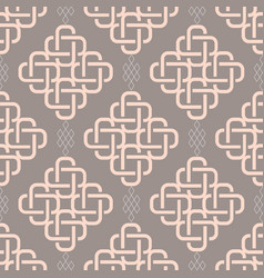 abstract fashionable geometrical seamless pattern vector image