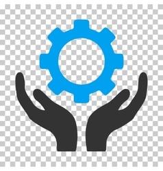 Gear Maintenance Hands Icon vector