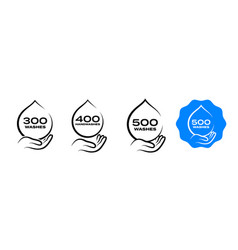 Hand wash dispenser icon handwash liquid soap vector