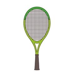 Racket tennis sport equipment vector