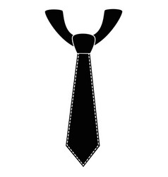 tie accessory design vector image