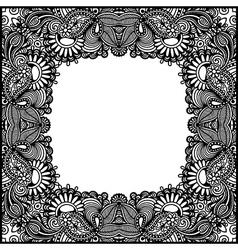 Vintage ornamental template vector